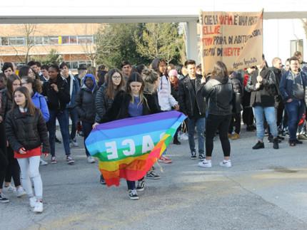 Gli alunni del Panzini alla XXIV Giornata della memoria e dell'impegno in ricordo delle vittime innocenti delle mafie