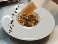 Passatelli al tartufo bianco - ricetta ristorante Giardino di San Lorenzo in Campo