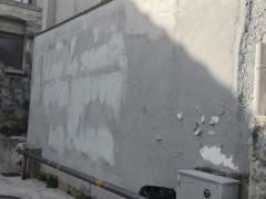 Muro ripulito