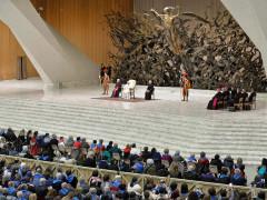 BCC di Ostra e Morro d'Alba presente all'udienza di Papa Francesco