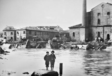 Senigallia, alluvione del 1897 - Archivio storico comunale, album 9 n 678