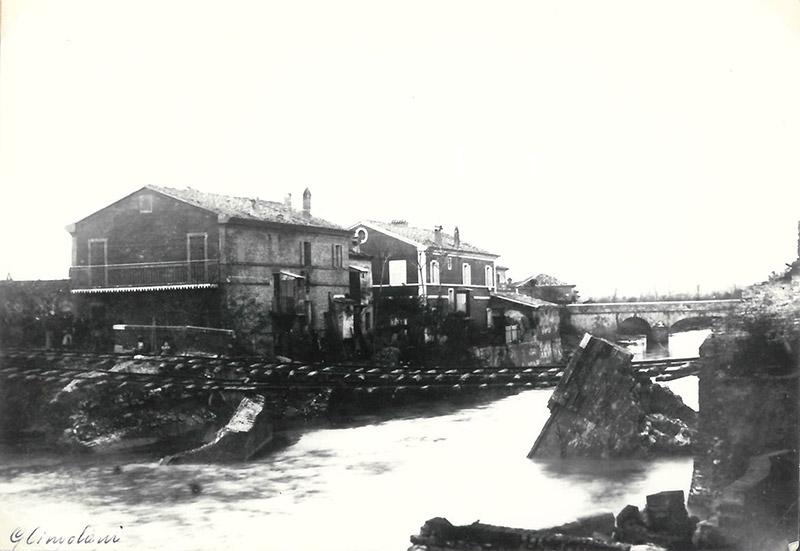 Senigallia, alluvione del 1897 - Archivio storico comunale, album 13 n 1024