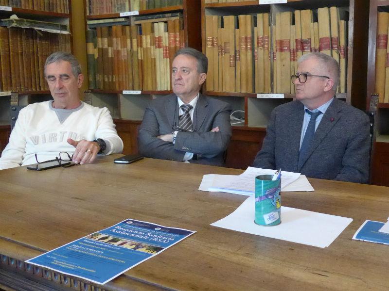 Rodolfo Piazzai, Giovanni Tinti, Direttore Sanitario Sgreccia