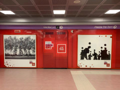 gli scatti di Cicconi Massi in mostra nella metro di Milano