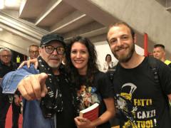Vasco Rossi e Vittoria Chiarenza