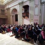 Esibizione dei Cantieri Meticci alla Chiesa dei Cancelli