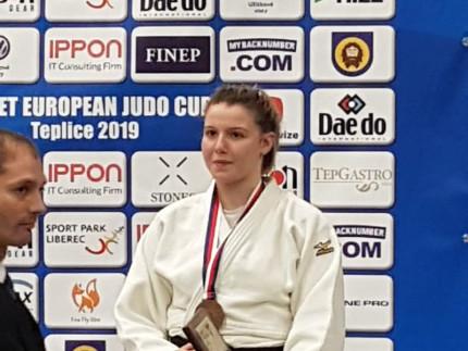 Terzo posto per Carolina Mengucci ai Campionati Europei Cadetti di Judo