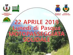 Motopasseggiata solidale Pasquetta 2019