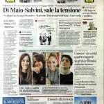 """Elisa sulle pagine del """"Corriere della Sera"""""""