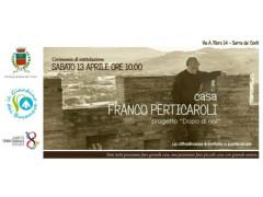 """l'appartamento del progetto """"Dopo di Noi"""" intitolato, """"Casa Franco Perticaroli"""""""