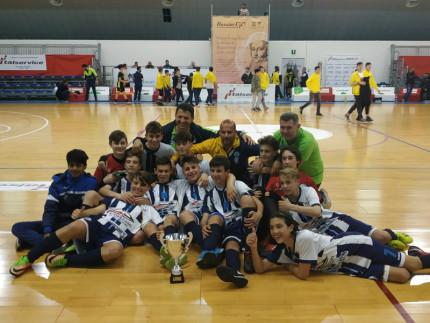1° titolo Regionale Under 15 di Calcio a 5 dai ragazzi dell'ASD Senigallia Calcio