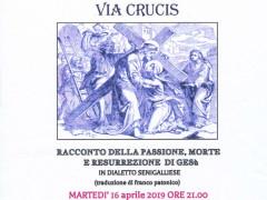 Via Crucis in dialetto 2019 a Montignano di Senigallia