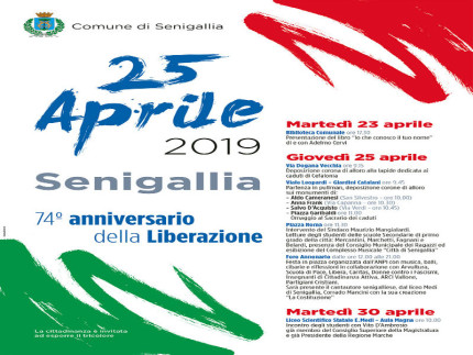 25 aprile 2019, manifestazione