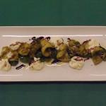 Calamaretto vizioso - ricetta del ristorante Fortino Napoleonico di Portonovo di Ancona