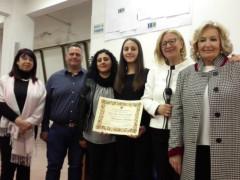 """Il Lions Club premia uno studente meritevole dell'Istituto """"Corinaldesi"""""""