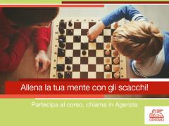 Allena la tua mente: corso di scacchi presso Generali Italia - agenzia di Senigallia