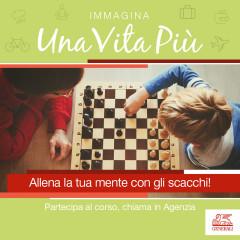 Allena la tua mente: corso di scacchi presso Generali Italia - agenzia di Senigallia - locandina