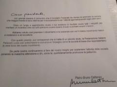 Lettera Fipav per US Pallavolo