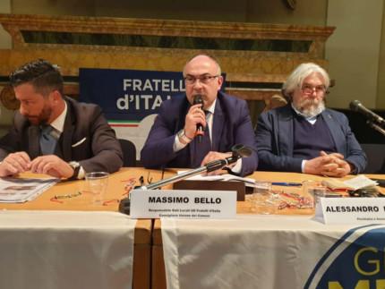 Massimo Bello e Alessandro Meluzzi