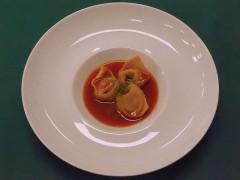 Tortellone a mare - ricetta ristorante Fortino Napoleonico