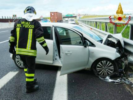 incidente sull'A14 tra Senigallia e Montemarciano