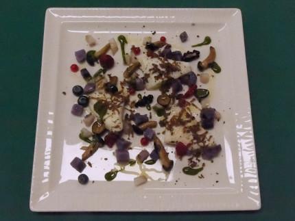 Rombo nel bosco - ricetta ristorante Fortino Napoleonico