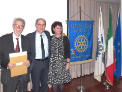 Incontro con il Prof. Annino presso il Rotary Club Senigallia