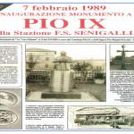 Inaugurazione monumento Pio IX