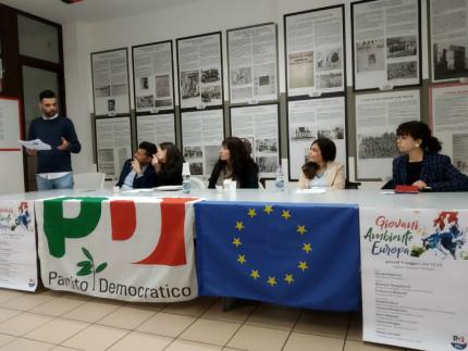 Discussione a tutto tondo su Giovani, Ambiente ed Europa