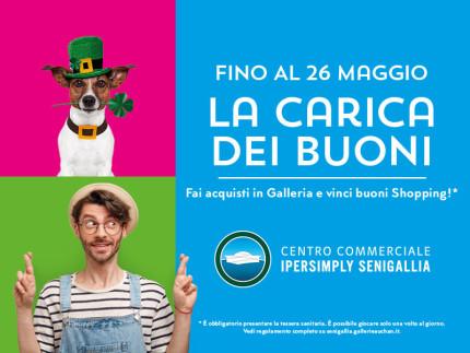 Al Centro Commerciale Ipersimply Senigallia, La Carica Dei Buoni!