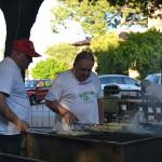 Si cucinano le specialità gastronomiche della Festa del Cuntadin di Montignano