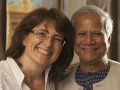 Yunus e Paola Samoggia