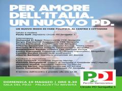 Conferenza pubblica del Pd