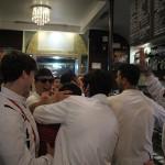 La festa di giocatori e staff per la promozione della FC Vigor Senigallia