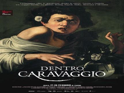 """Locandina di """"Dentro Caravaggio"""""""