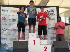 Eugenio Marconi secondo ai campionati europei d windsurf freestyle