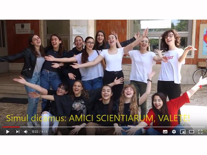 Video lezioni di chimica in latino presentate dal Liceo Perticari a Fosforo 2019