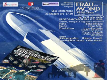 """""""Protofantascienza italiana"""", copertina libro"""