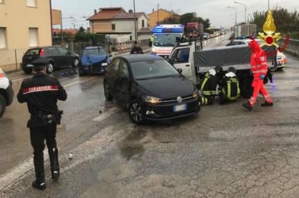 Incidente stradale a Marzocchetta