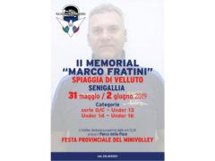 parte il Memorial Marco Fratini 2019