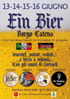 Ein Bier 2019 a Borgo Catena di Senigallia - locandina