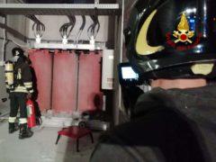 Incendio nell'ospedale di Torrette