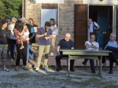 Elezione del nuovo direttivo dell'associazione Il Seme (al microfono il neo presidente Gioele Serfilippi)
