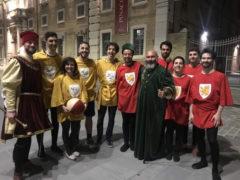 I ragazzi del Tennistavolo Senigallia vincitori del Gioco della Campana