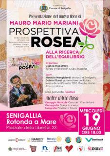 """Presentazione del libro """"Prospettiva rosea. Alla ricerca dell'equilibrio"""" del dottor Mauro Mario Mariani - locandina"""