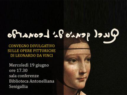 Quel genio di Leonardo - Convegno a Senigallia