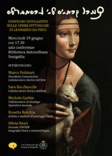 Quel genio di Leonardo - Convegno a Senigallia - locandina