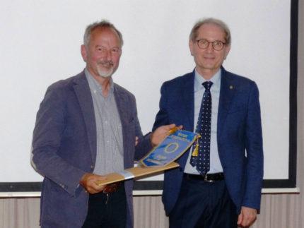 Prof. Nunzio Isidoro al Rotary di Senigallia