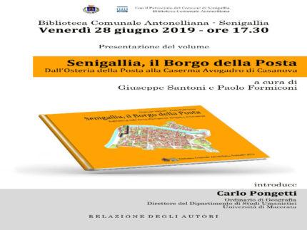 """""""Il borgo della posta"""" libro Santoni"""