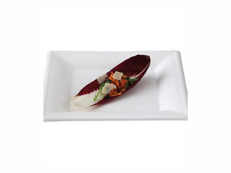 Asso Senigallia: piatto quadrato biodegradabile